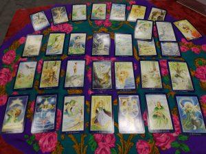 Tarot layout