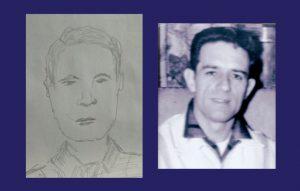 Spirit drawing of Dad