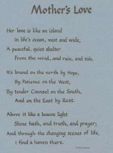 Poem about Mother's Love